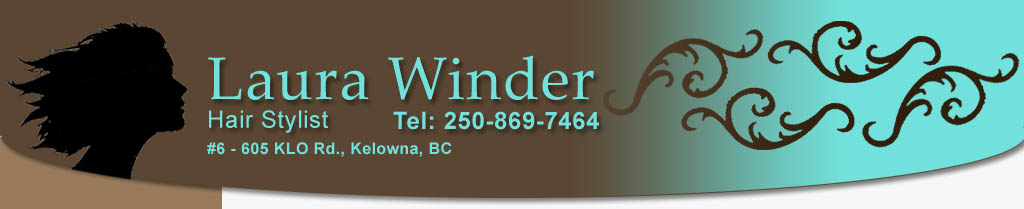 Laura Winder - hair stylist, Kelowna